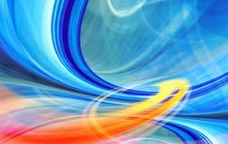Teknologibakgrundsillustration, abstrakt hastighet Arkivbild