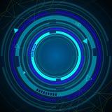Teknologibakgrundsvektor Fotografering för Bildbyråer