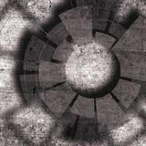 Teknologidesign med textur och tech Arkivbild