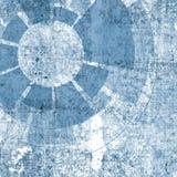 Teknologidesign med textur och tech och grunge Royaltyfri Foto