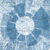 Teknologidesignen med texturerar och tech Arkivfoto