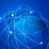 Teknologiingreppsnätverk  Arkivfoton