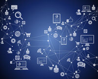 Teknologiinternetuppkoppling