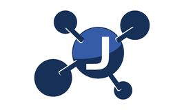 Teknologilösningar initialt J Royaltyfri Bild