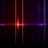 Teknologimall. Neonabstrakt begrepp, reflexion royaltyfri illustrationer