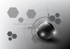Teknologisk global modern backgr för abstrakt begrepp för kommunikationssystem Fotografering för Bildbyråer
