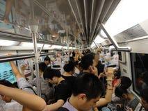 Teknologiskt liv i Kina royaltyfri fotografi