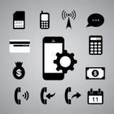 Teknologisymbol Arkivbilder
