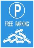 Tekort van parkeerplaats stock illustratie