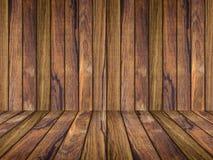 Tekowy Drewniany tło fotografia stock