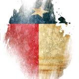 Teksańczyk flaga ilustracja wektor