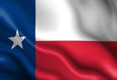 Teksańczyk flaga Obrazy Stock