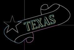 Teksas ślimacznica ilustracja wektor