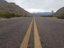 Teksas autostrada Fotografia Stock