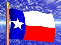 Teksas bandery Zdjęcia Stock