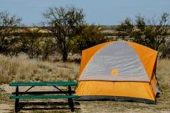 Teksas Campsite Zdjęcie Royalty Free