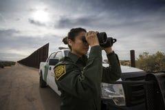 Teksas - El Paso - granica zdjęcia royalty free