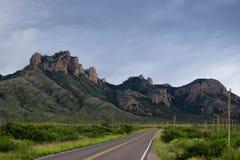 Teksas góry autostrada Obrazy Stock