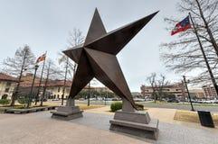 Teksas gwiazda zdjęcie stock