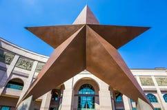 Teksas gwiazda przed Bob Bullock Teksas stanu historią Museu Zdjęcia Stock