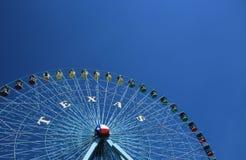 Teksas gwiazdy Ferris koło, Dallas Teksas Zdjęcie Stock