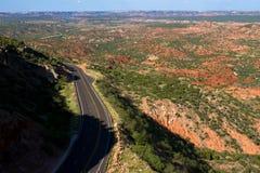 Teksas Hwy 207 Zdjęcie Royalty Free