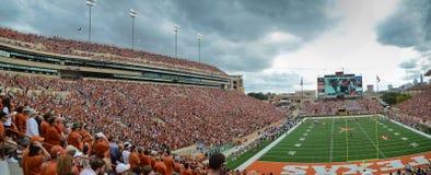 Teksas longhornów szkoły wyższa mecz futbolowy Zdjęcia Royalty Free