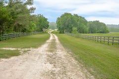 Teksas Mini gospodarstwa rolnego, rancho Real Estate fotografia/ zdjęcie royalty free