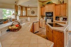 Teksas Mini gospodarstwa rolnego, rancho Real Estate fotografia/ fotografia stock