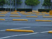 Teksas rozmiaru ostawianie samochodu na parking przez obsługę udział obraz stock