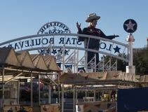 Teksas stanu Uczciwy punkt zwrotny, Duży Tex Zdjęcia Royalty Free
