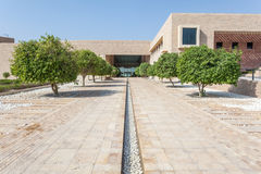 Teksas uniwersytet w Doha, Katar Obraz Stock