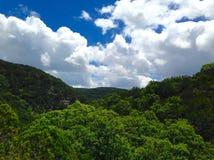 Teksas wzgórza kraj Fotografia Stock