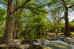 Teksas wzgórza kraj fotografia royalty free