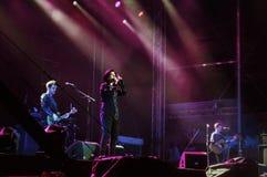Teksas zespół na scenie Zdjęcie Royalty Free