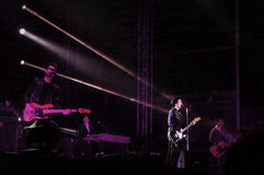 Teksas zespołu żywy koncert Obraz Royalty Free
