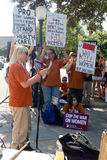 Teksascy za aborcją Protestors Zdjęcie Stock