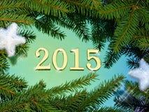 2015 tekst Zdjęcie Royalty Free