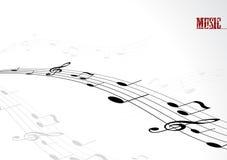 tekst melodia wektora ilustracji