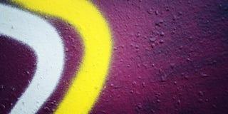 Tekst rama Grunge tło Uliczny graffiti zbliżenie starzenie się zdjęcie Fotografia Stock