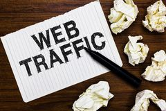 Tekst sieci szyldowy pokazuje ruch drogowy Konceptualna fotografii kwota dane wysyłający i otrzymywający gościami strona internet obrazy royalty free