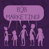 Teksta B2B szyldowy pokazuje marketing Konceptualny fotografia marketing produkty biznesy lub inna organizacji sylwetka ilustracji