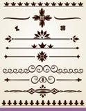 Teksta i strony linie podziału Fotografia Royalty Free