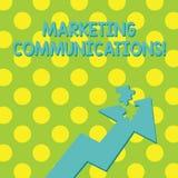 Teksta znak pokazuje Marketingowe komunikacje Konceptualnej fotografii Reklamowy Osobisty sprzedawanie i sprzedaży promocja Kolor ilustracja wektor