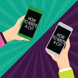 Teksta znaka seans Dlaczego Pisać A Cv Konceptualne fotografii rekomendacje robić dobremu życiorysowi uzyskiwać Hu analizy akcyde zdjęcie stock