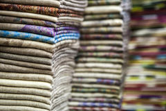 Tekstil kolor obrazy stock