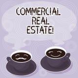 Tekstteken die Commercieel Real Estate tonen Conceptueel fotobezit dat alleen voor bedrijfsdoeleinden Reeksen van wordt gebruikt vector illustratie