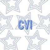 Tekstteken die Cv tonen Het conceptuele fotocurriculum vitae hervat Infographics-Baan Zoekend Werknemersrekrutering royalty-vrije illustratie