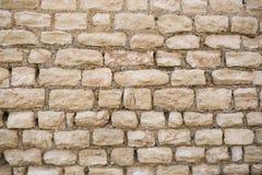 Tekstur autentyczne rzymskie kamienne cegły Fotografia Stock