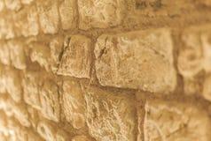 Tekstur autentyczne rzymskie kamienne cegły Zdjęcia Royalty Free